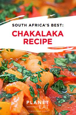 South African Chakalaka Recipe