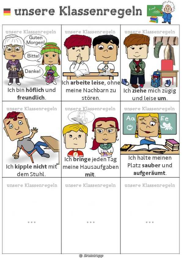 Unsere Klassenregeln 2 | Braintrapp for kids | Pinterest | Android ...