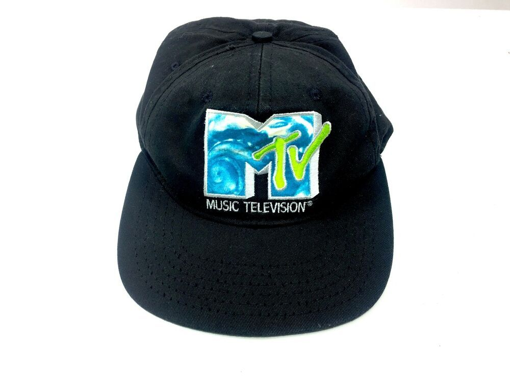 0b124dddeb8 Vtg 80 s Black Blue Wave MTV Music Television Snapback Adjustable Cap Hat  USA  fashion  clothing  shoes  accessories  mensaccessories  hats (ebay  link)