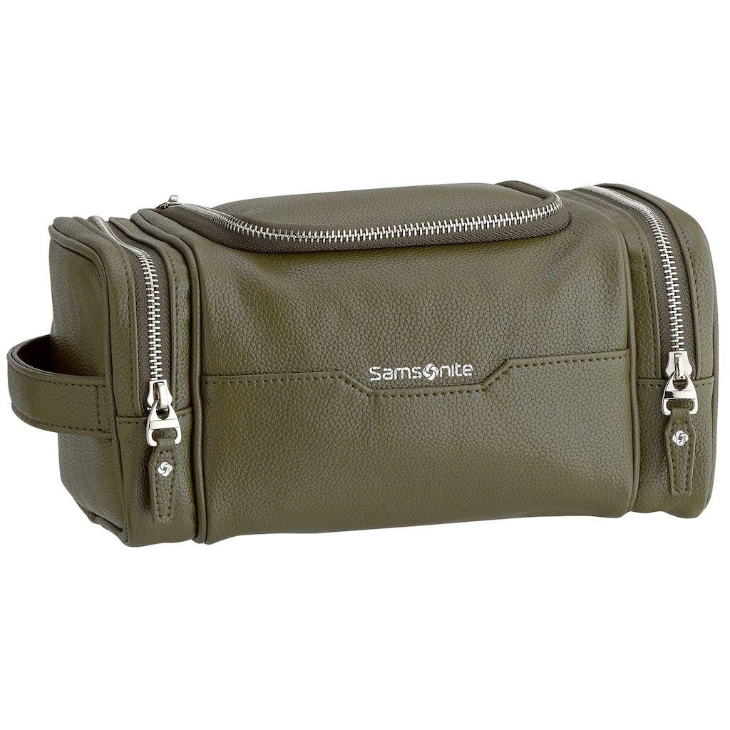 Men S Samsonite Dusk U Zip Travel Kit Green In 2019 Products