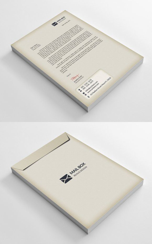 envelope letterhead stationery templates stationery templates