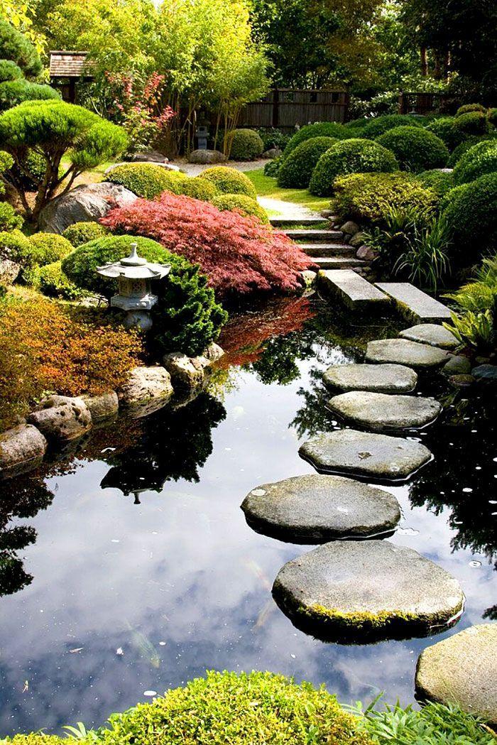 30 idées pour créer un jardin zen Japonais #japangarden