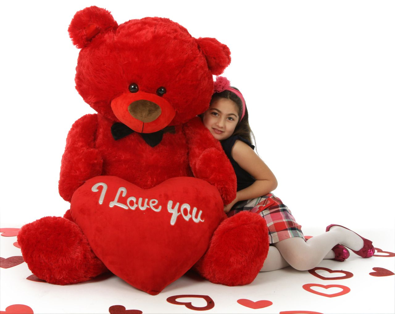 giant teddy huge red valentines day teddy bear with i love you heart - Giant Teddy Bear For Valentines Day