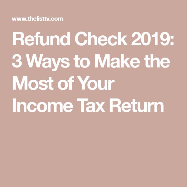 51d1f086f24dfc3f138b761b03888cd8 - How To Get The Most From Income Tax Return