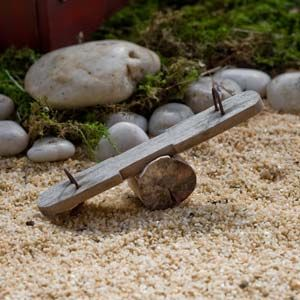 Fairy Garden Miniature See Saw. SHOP now $6.99