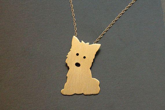 Dog Charm-Argent Sterling 925-Pendentif Chiot Silhouette Pet Amour Animal Nouveau