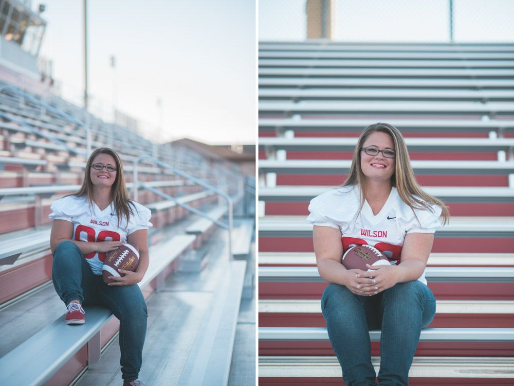 Amber wilson football senior session seniors
