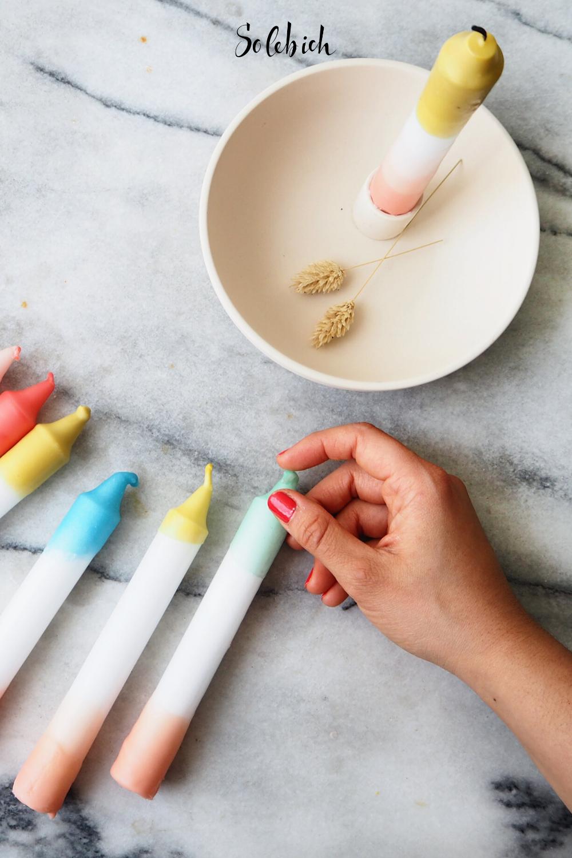 Photo of DIYnstag – Selbst gefärbte Kerzen mit warm.living