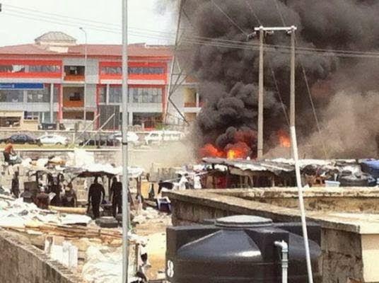 ECHOES: Police Raid & Burn-down Shanties In Lekki, Lagos (...