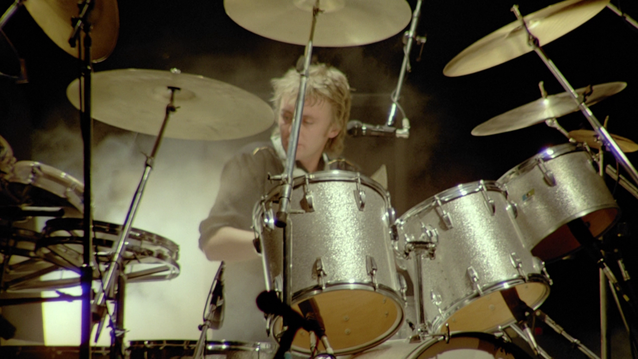 Queen Rock Montreal Roger Taylor Solo Drums Tympani Queen