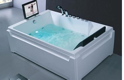 Freestanding Tub For Two. Person Hot Tub Product details  View from ModernSpa Endeavor Corporation Company 1 2 M2RC 1580 China bathtub
