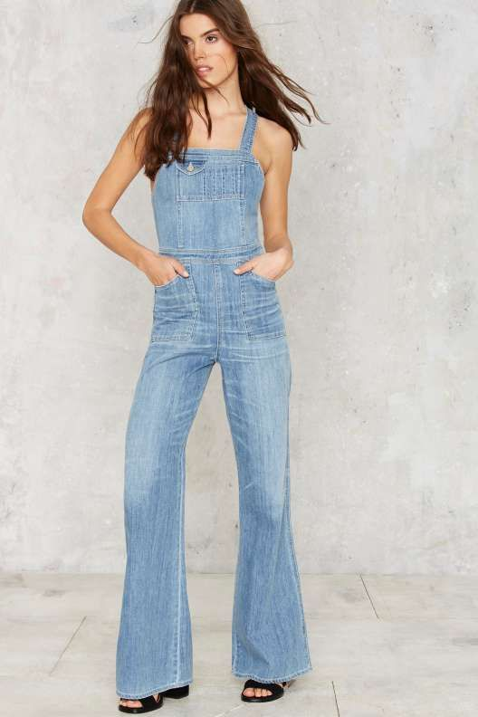 c439a62bb1d Citizens of Humanity Katie Denim Overalls - Rompers + Jumpsuits ...