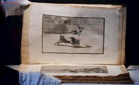La Tauromaquia de Goya 'vale' 601.199 euros