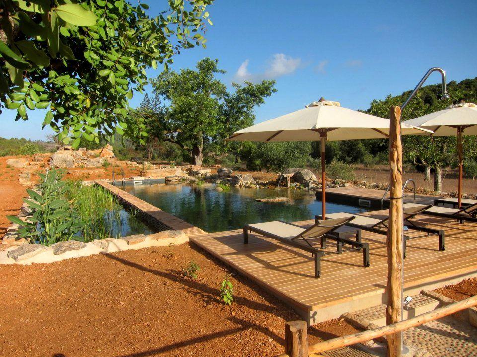 agroturismo ecologico can marti ibiza swimming in our bio pool