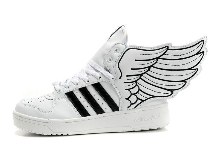 super popular 8308a 9a6e1 Women adidas x Jeremy Scott JS Wings 2.0 white black For ...