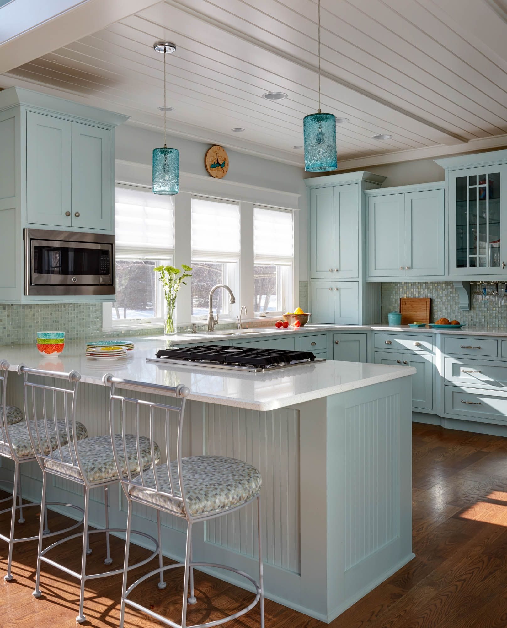 Hgtv Painting Kitchen Cabinets: Painted Kitchen Cabinets In Sherwin Williams Tidewater By