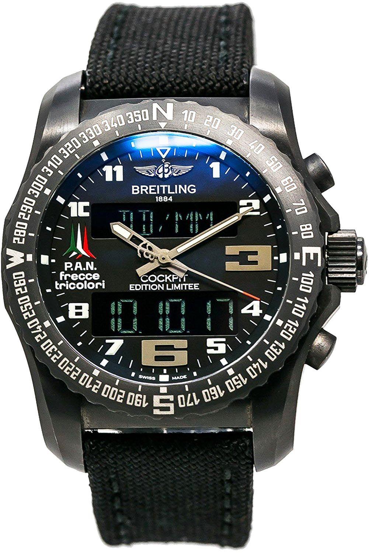 Breitling cockpit swiss quartz mens watch vb5010 titanium breitling luxury watches thecheapjerseys Gallery