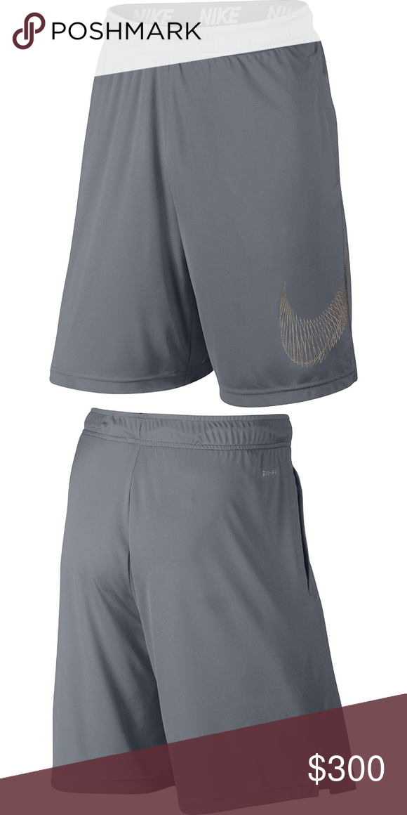 Mens Grey M NK Dry 9 in Fly Tri Flw Shorts X Large Product