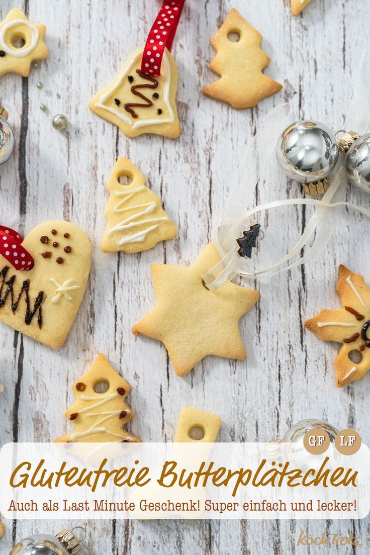 Einfache Butterplätzchen | glutenfrei und laktosefrei #glutenfreierezepte