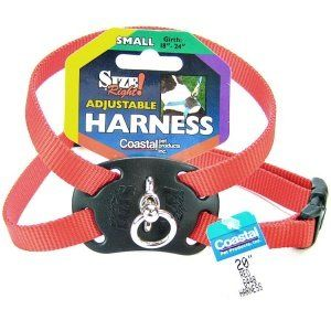 Coastal Pet Size Right Adjustable Harness Red 3038 Girth Width 1