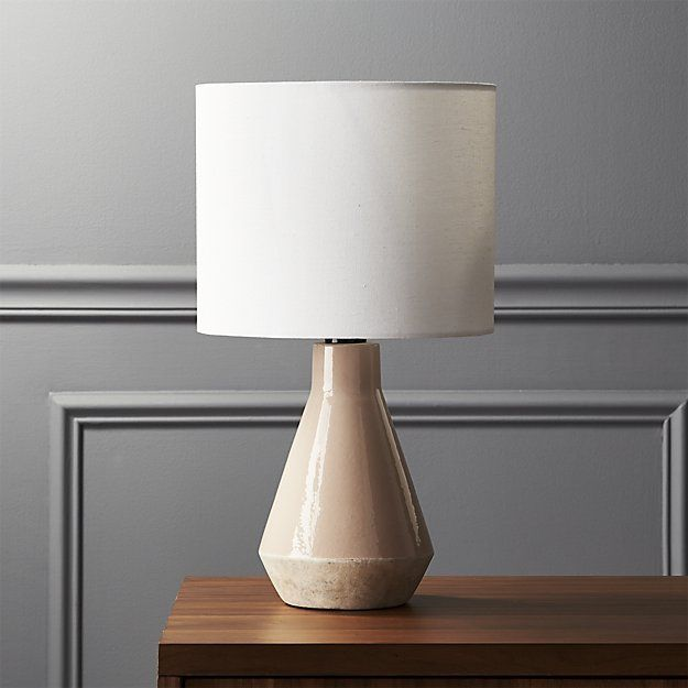 Cb2 emmie pink ceramic table lamp ceramic table lamps ceramic table and apartments