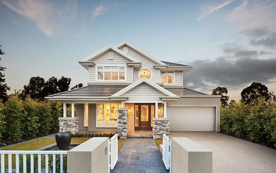 The bayville home browse customisation options for Metricon new home designs