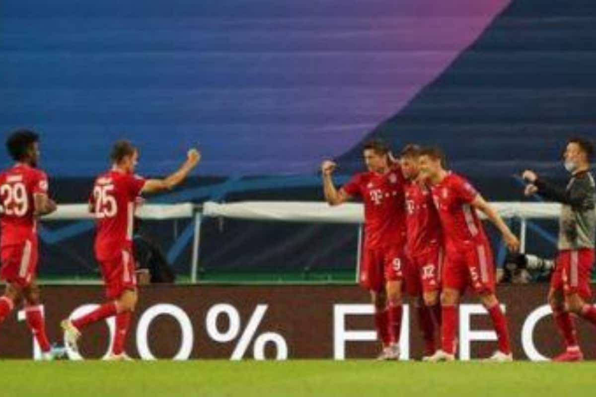 Serge Gnabry Double Sends Bayern Munich Past Lyon Into Uefa Champions League Final Champions League Final Bayern Munich Uefa Champions League