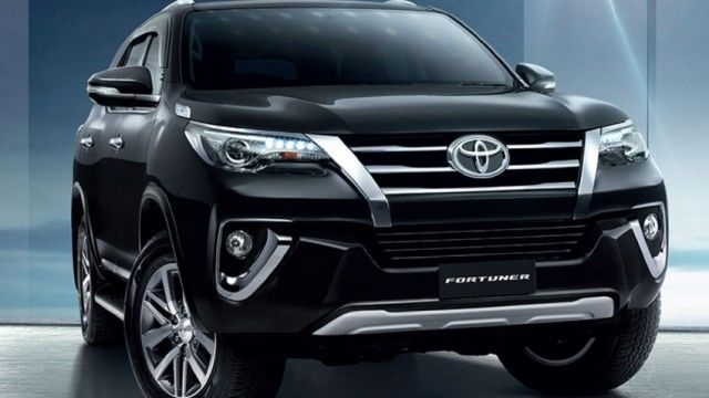2016 Toyota Fortuner Black Front1 Toyota Dream Cars Jeep