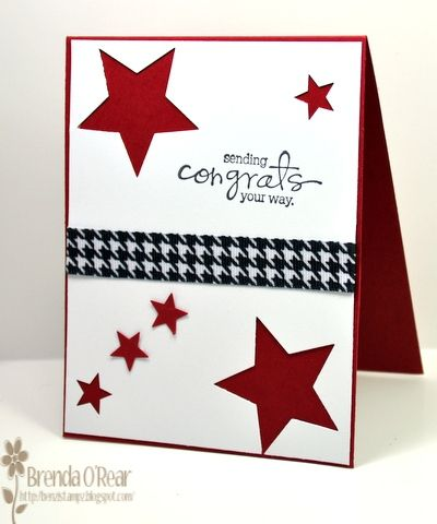 Photo of Sending Graduation Congrats by Benzi – Cards and Paper Crafts at Splitcoaststampers