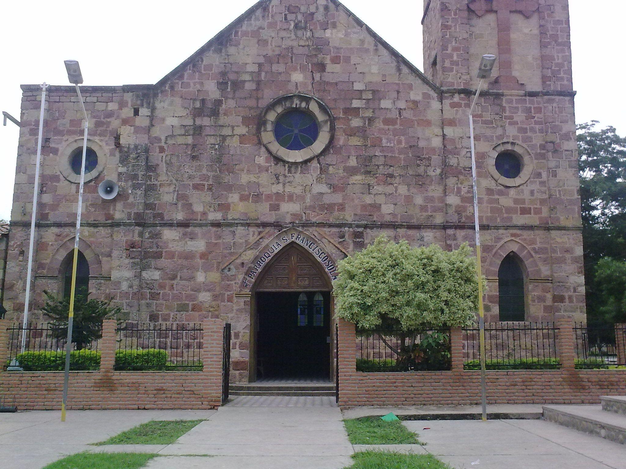 Iglesia San Francisco Solano en Villa Montes-Bolivia.