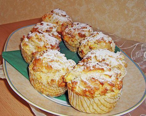 Apfel - Quark - Muffins von JosephineB | Chefkoch