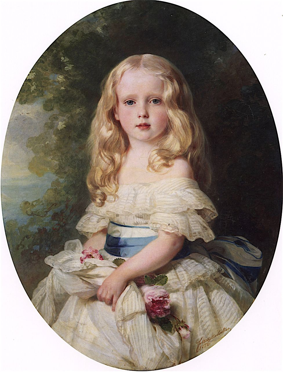 Luise Von Boden Princess Biron Of Curland Franz Xaver
