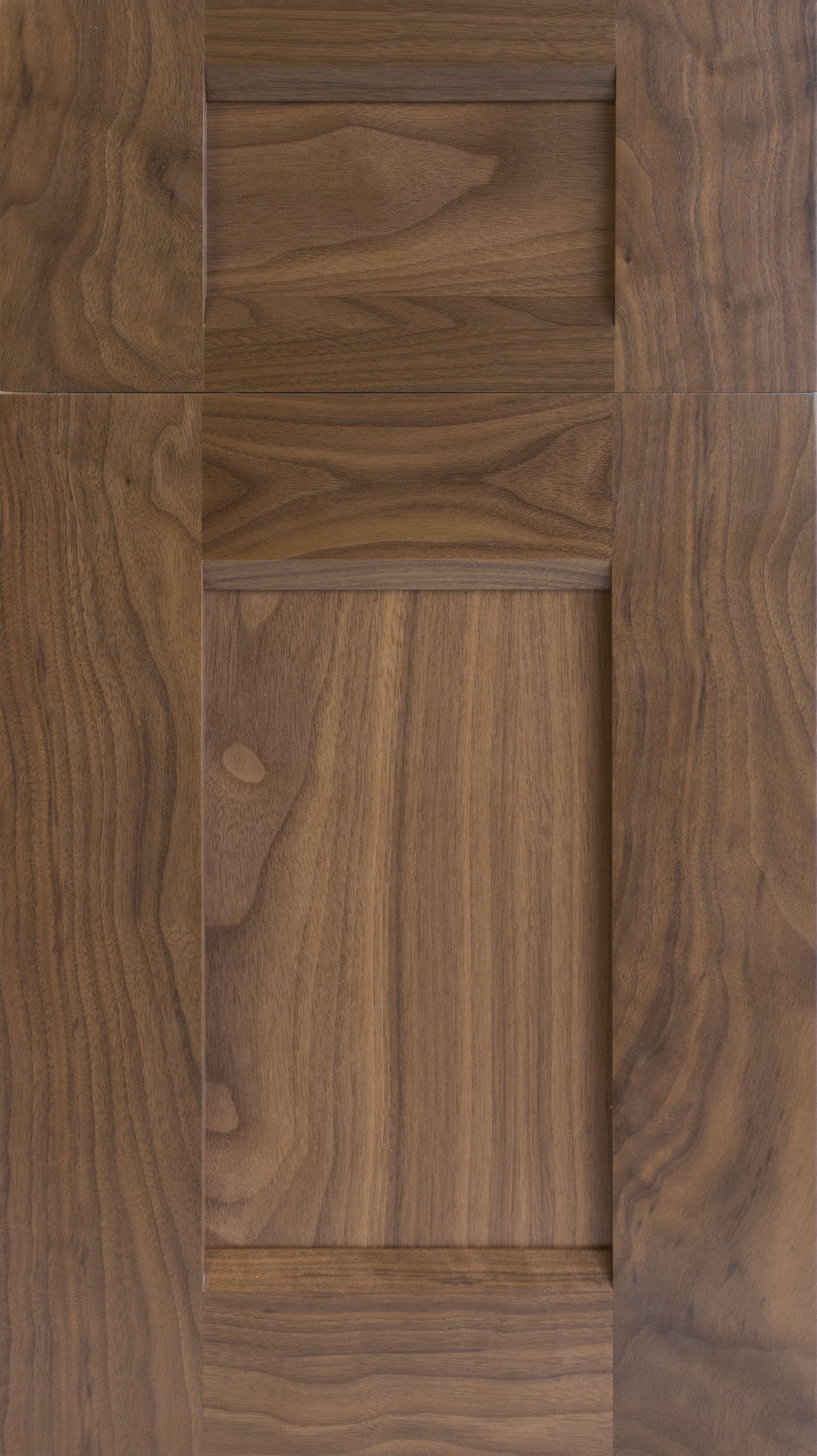 Sherdian Wide Rail Door In Black Walnut With Cardomon Stain Walnut Kitchen Cabinets Walnut Kitchen Kitchen Cabinets