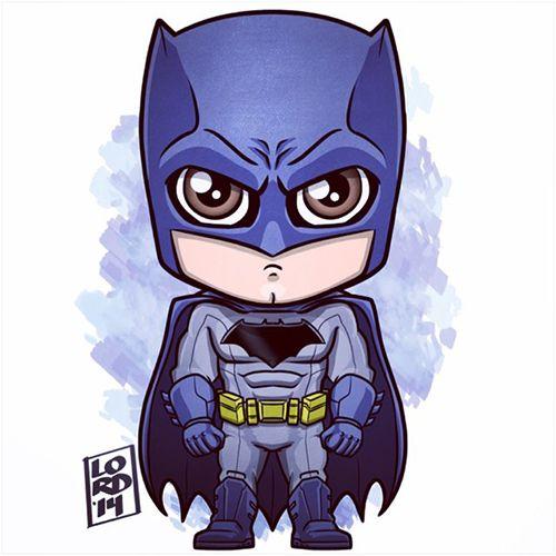 #Batman #Fan #Art. (Chibi Batman) By: Lord Mesa. (THE * 5