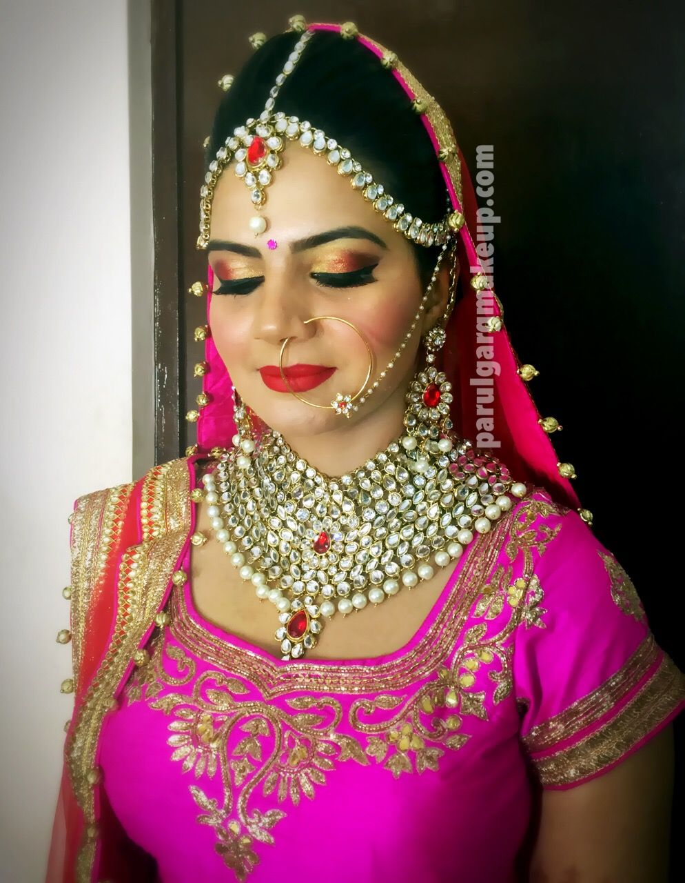 north indian bridal makeup by parul garg http://www.parulgargmakeup