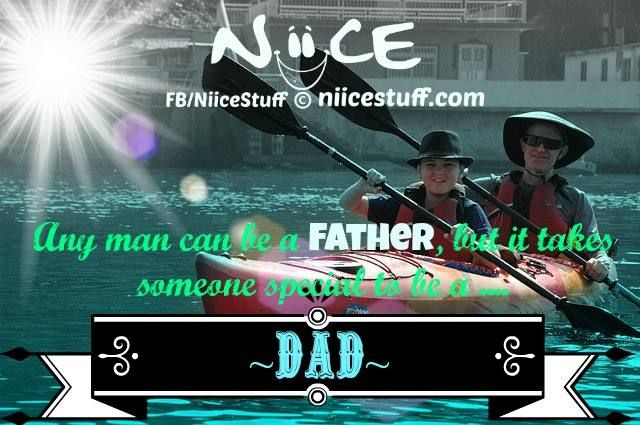 Niice quotes for Father and Son.