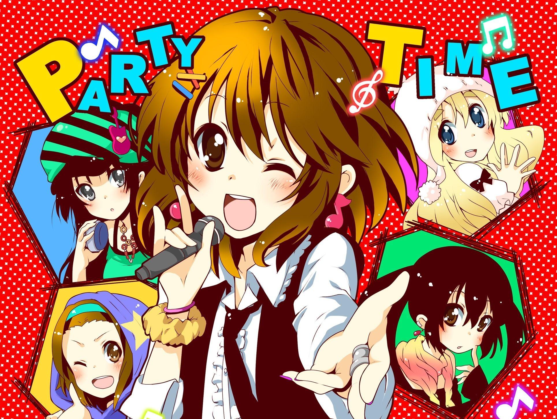 anime party Anime happy birthday in 2018 Pinterest