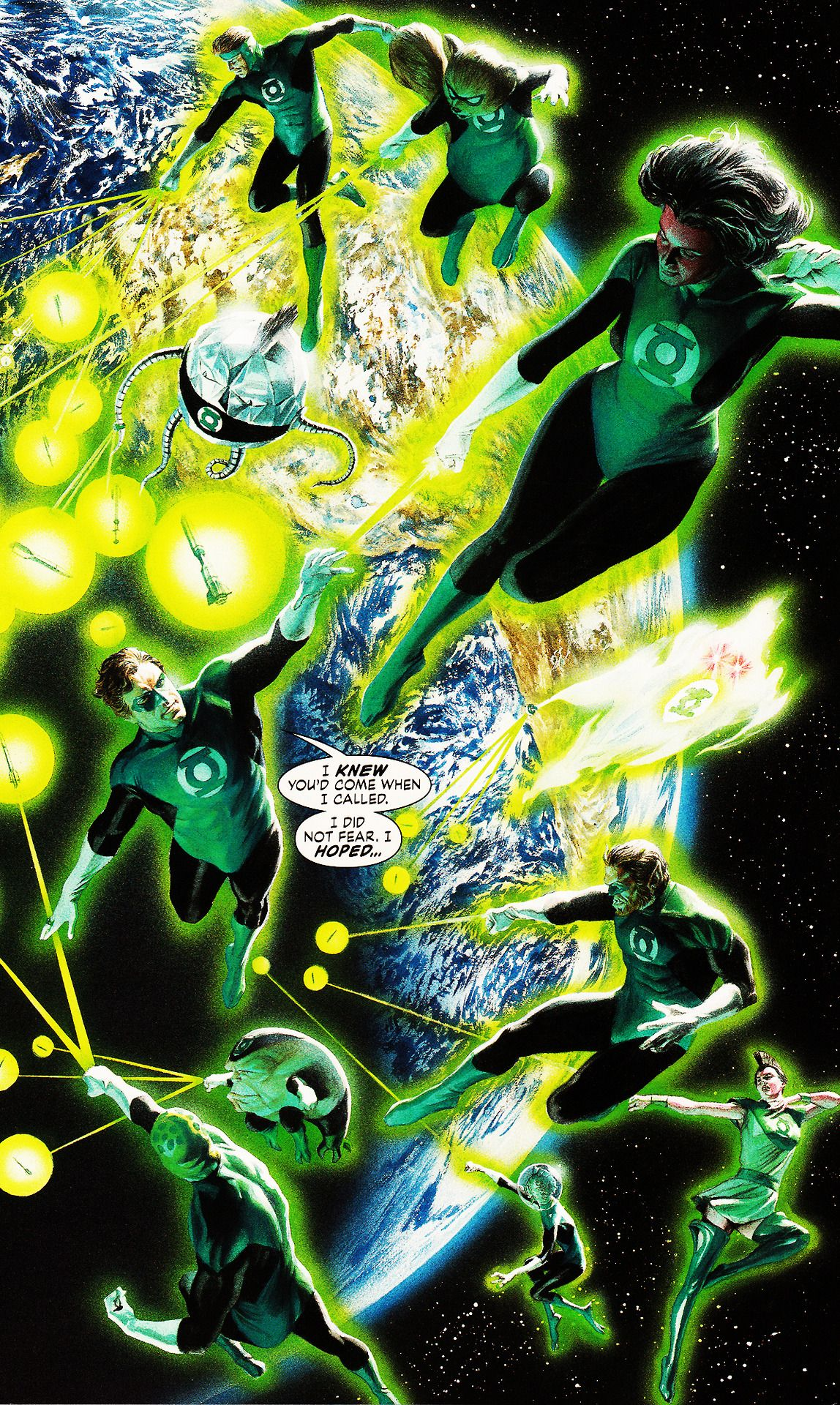 The Green Lantern Corps Justice #12 by Alex Ross
