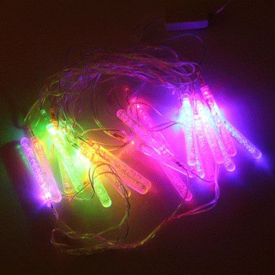20 - LED 220V EU Plug 4m Popsicle - shaped RGB String Light for Christmas Ornament #women, #men, #hats, #watches, #belts, #fashion, #style