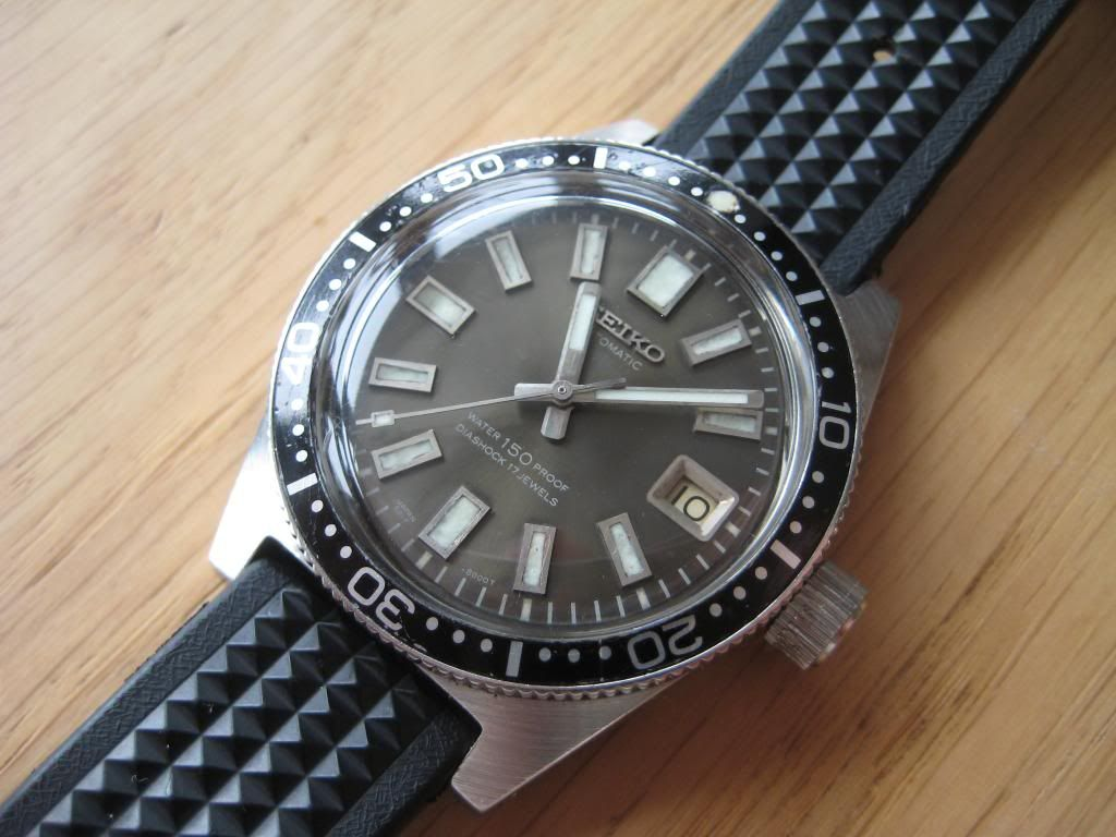 1965 Original Vintage Seiko 6217 8000 8001 62mas Serviced