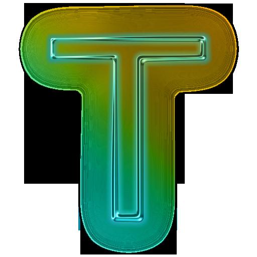 T Letter Alphabet Png Png 512 512 Lettering Alphabet Neon Png Lettering