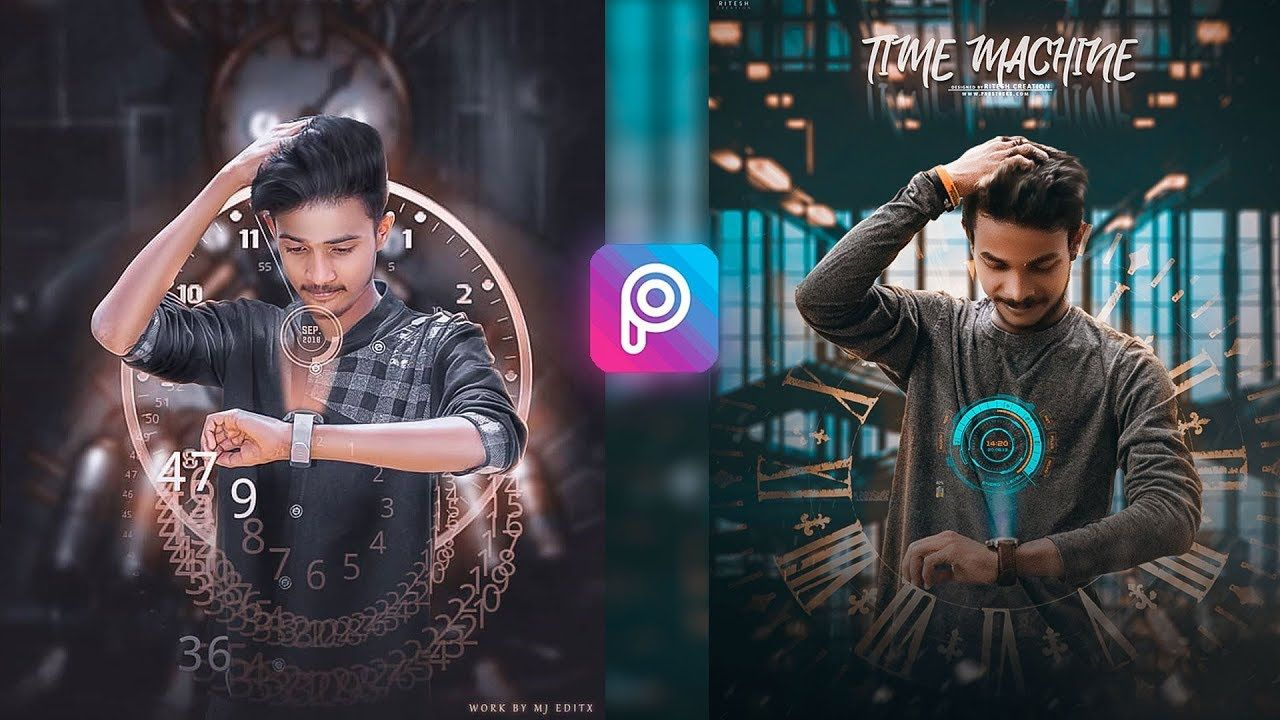 Time Machine Picsart Viral Futurustic Editing Manipulation Watch Overlay Editing By Lightroom Photo Poses For Boy Picsart Cute Boy Photo