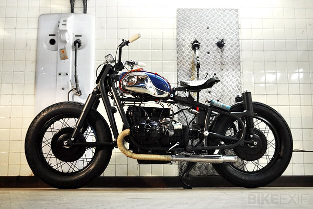 BOBBER BMW R60/2 BY BLITZ MOTORCYCLES