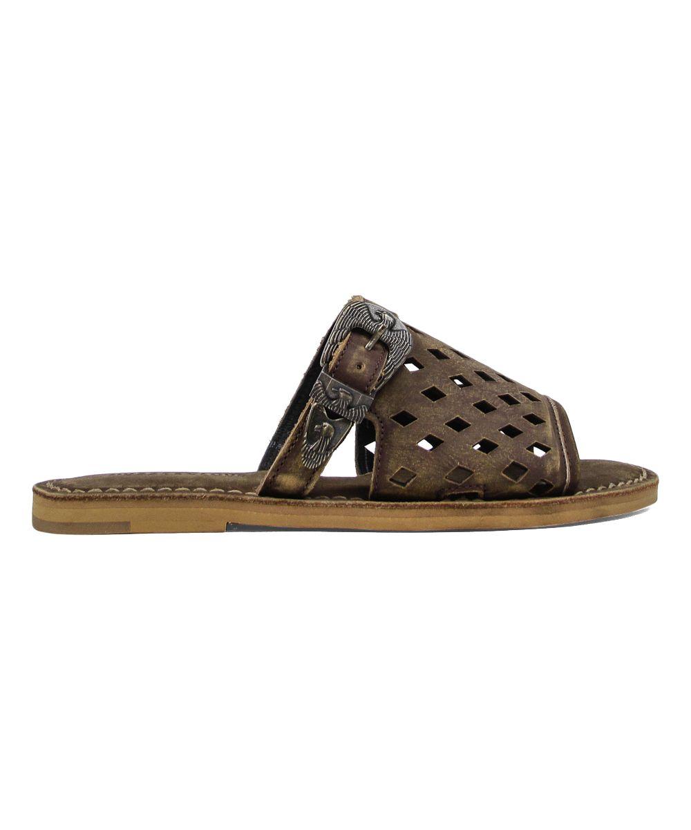 a94a42ede04 Cue Morea Leather Sandal