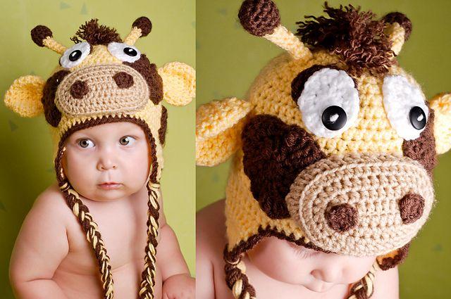 Ravelry: Gary the Giraffe (all sizes) pattern by Boomer Beanies