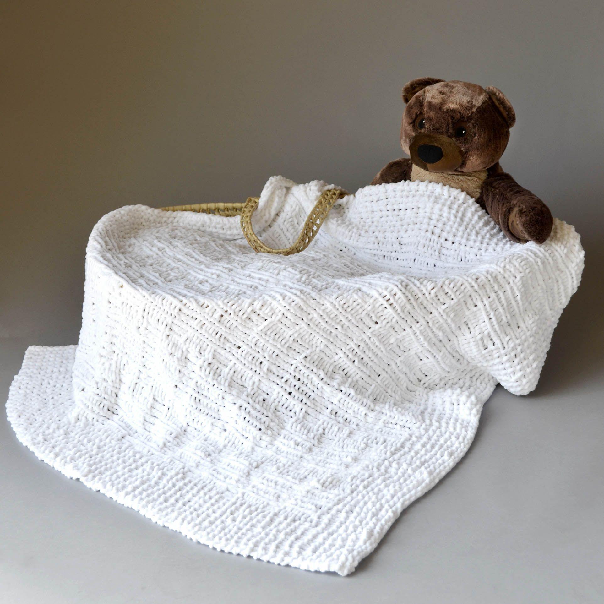 Free Pattern Friday – Crosshatch Baby Blanket