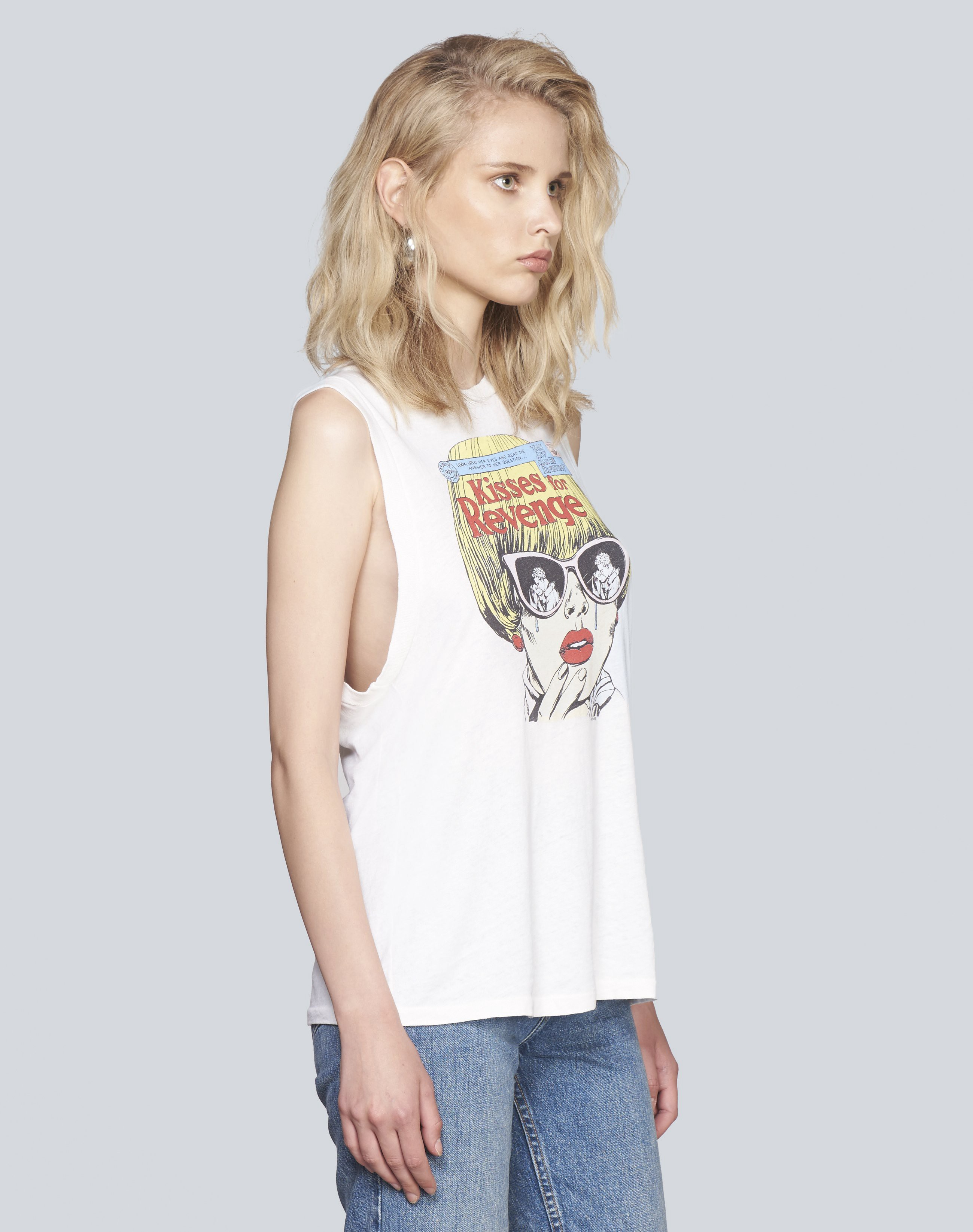 22+ Womens graphic muscle tee inspirations