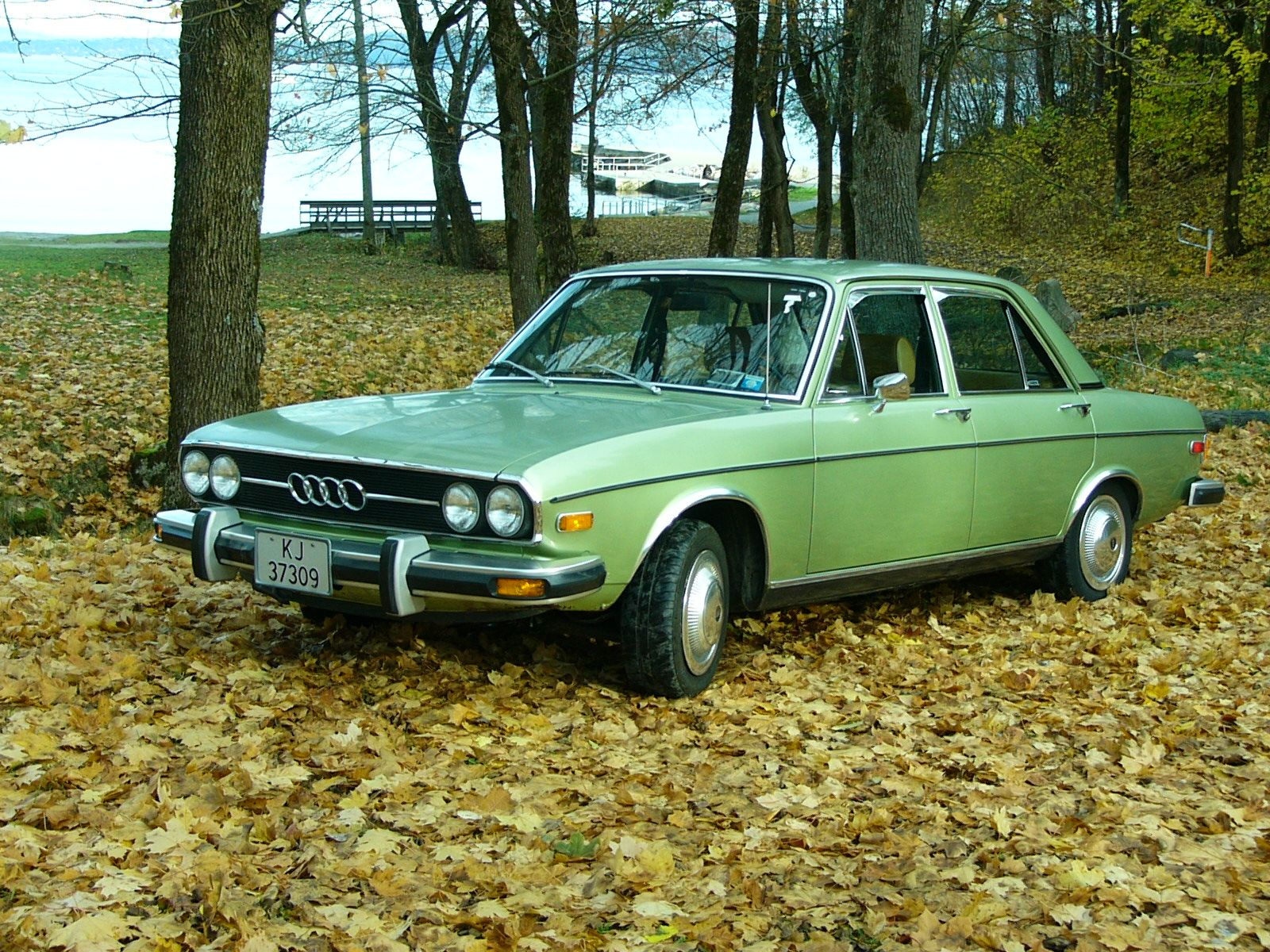 Audi 100 Ls C1 From 1977