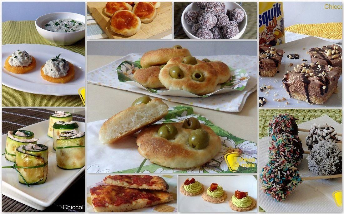 Favori Ricette per buffet e rinfreschi (finger food dolci e salati  LS77