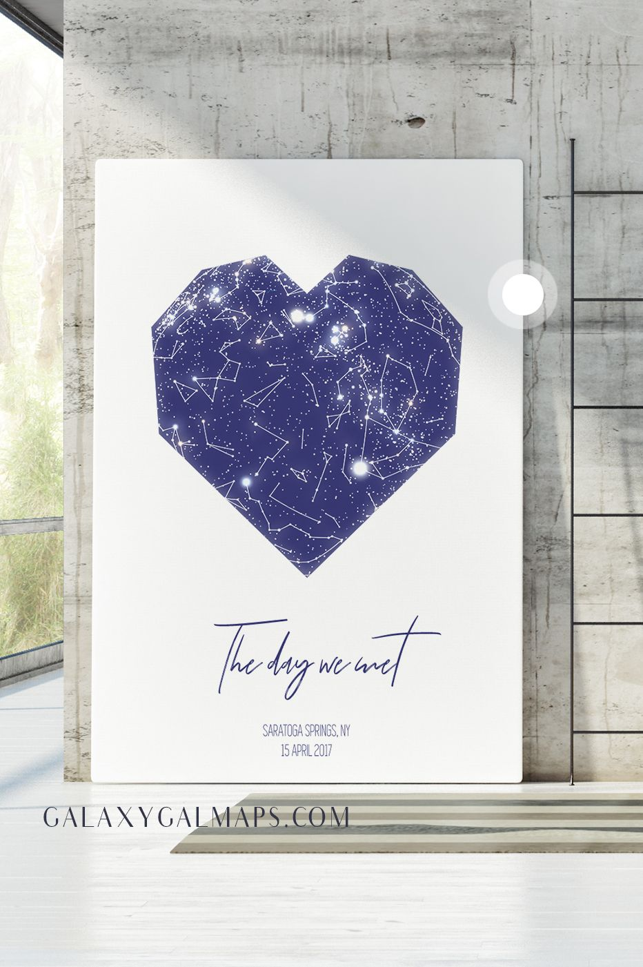 UNIQUE Sky Map for Your Date - Engagement Gifts for Couple Her Party ...